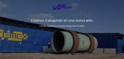 Página web Cemex